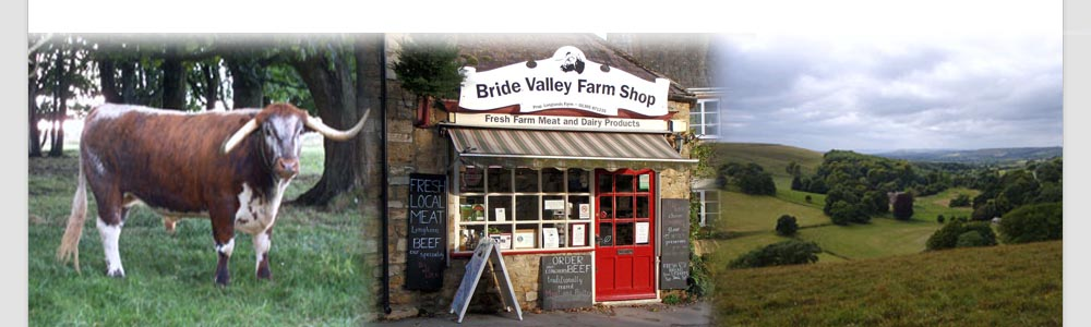 Bride Valley Farm Shop header